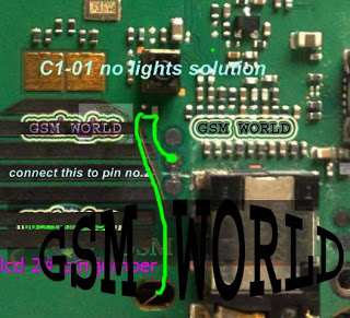 Nokia c1-01 Lcd Light Nokia c1-01 No light solution Nokia c1-01 Light