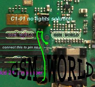c1 01 lcd lightnokia c1 01 no light solution nokia c1 01 light problem